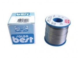 ESTANHO SOLDA BEST 60X40 500G 1MM