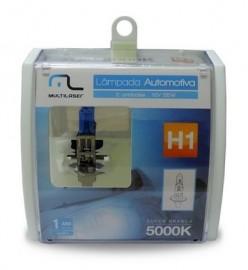 Lampada Automotiva H1 12V 55W Super Branca Multilaser (par)