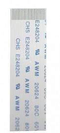 FLAT BRANCO 24VIAS x 10CM INVERTIDO 0,5MM