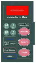 MEMBRANA DE MICROONDAS PANASONIC NN 5556 BH JUNIOR