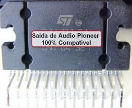 SAIDA DE AUDIO PIONEER COMPATIVEL COM PAL011 PAL012 PAL013 PA2032